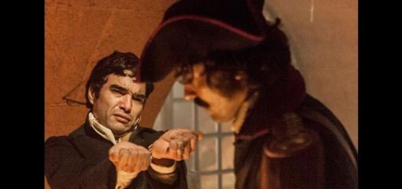Novela 'Liberdade': Tolentino prende André e seu novo amor