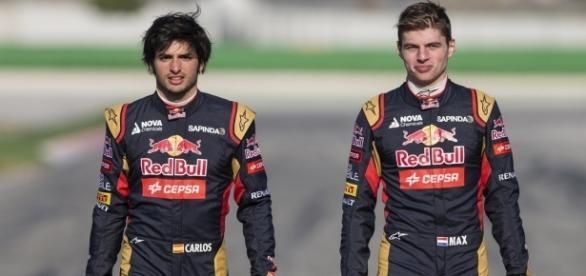 Sainz y Verstappen son las dos más prometedoras jovenes estrellas de la F1