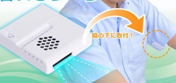 Thanko's Japanese Armpit Fan Gadget Photo Source: OddityCentral.com