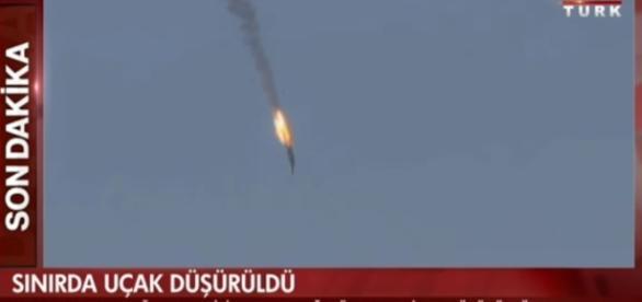 VIDEO Criza militara majora: Turcia a doborat un avion de ... - hotnews.ro