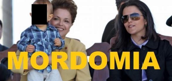 Dilma dá mordomia ilegal à família, mas é descoberta