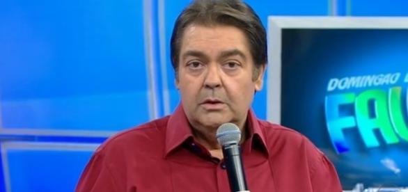 Faustão xinga Nuzman ao vivo (Reprodução/Rede Globo)