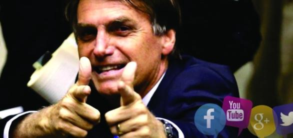 Jair Messias Bolsonaro ganha espaço nas redes sociais conquistando ainda mais seguidores