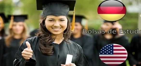 Oportunidade de estudar na Alemanha ou nos EUA