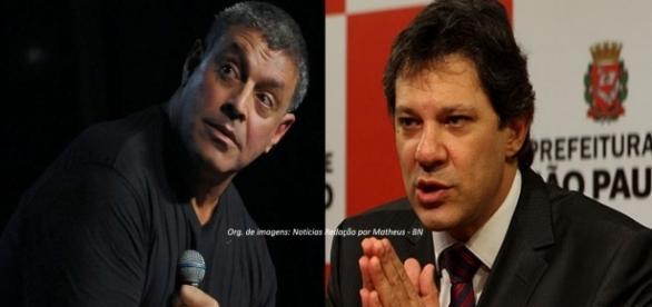 Alexandre Frota rebateu decisão de Fernando Haddad