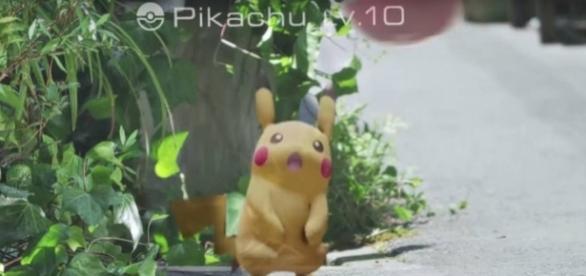Comece com o Pikachu como o seu parceiro.