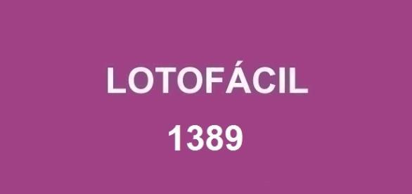 Resultado da Lotofácil 1389 será divulgado nessa segunda-feira, dia 18