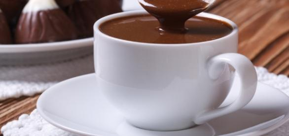 Chocolate quente cremoso para cai muito bem no inverno