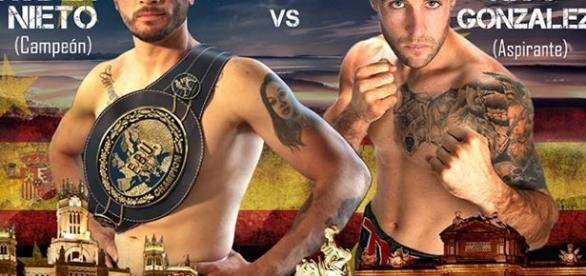 Cartel de la velada de boxeo que se celebrará este viernes en la Cubierta de Leganés