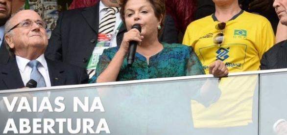 Dilma e as possíveis vaias - Foto/Google
