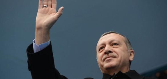 Il premier della Turchia Recep Tayyip Erdogan
