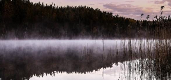 Tajemnicza mgła nad jeziorem (pixabay.com)