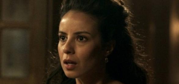 Joaquina descobre que Rubião matou seu pai