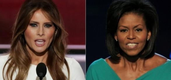 Seria a esposa de Trump uma fã de Michelle Obama?