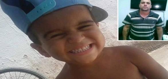 Rafael tinha apenas 5 anos e morreu vítima de agressão praticada pelo pai