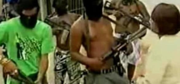 Terroristas do Rio são os bandidos - Imagem/SBT