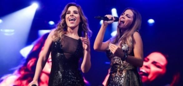 Wanessa Camargo e Maitê Perroni juntas no palco