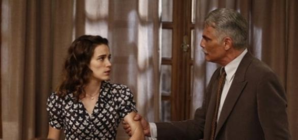 Depois de humilhar Maria, Severo aceita ir ao casamento (Divulgação/Globo)