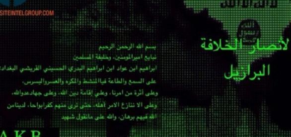 Grupo brasileiro apoia o Estado Islâmico
