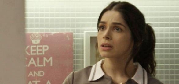 Jéssica avisa que Shirlei não deve ficar de papo com os patrões