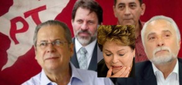Políticos do PT em foto - Imagem/Reprodução