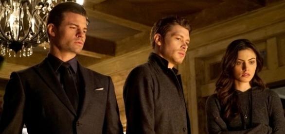 The Originals: Elijah, Klaus e Hayley (Foto: CW)