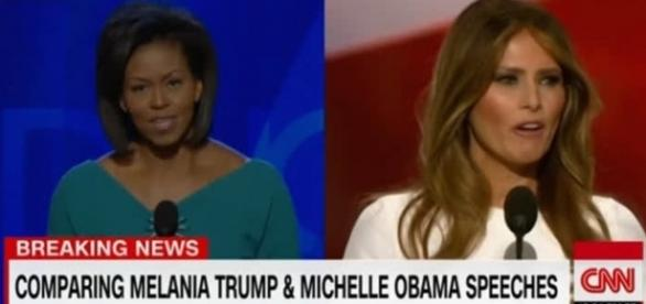 Usa 2016, Melania Trump 'copia' il discorso di Michelle Obama - today.it
