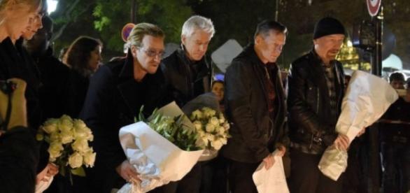 Vocalista do U2, Bono Vox, estava em Nice durante o atentado
