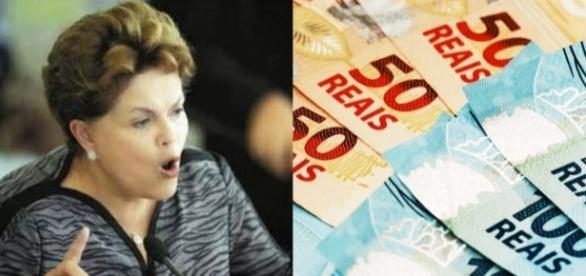 Dilma Rousseff está proibida de realizar vaquinhas