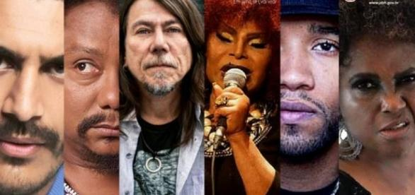 Grandes nomes da música nacional estão confirmadas na edição 2016 da Virada Cultura de BH. (Foto:Divulgação FMC)