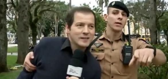 Jornalistas da Record acabam presos