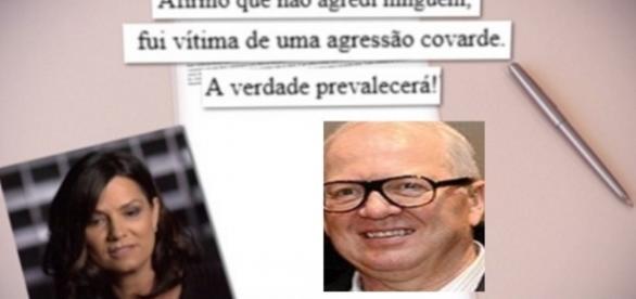 Luiza Brunet e a agressão doméstica