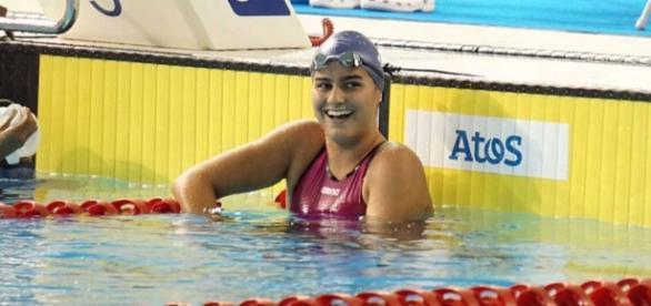 Mariana Gesteira representará o Brasil nos Jogos Paraolímpicos. Foto: Portal Esporte Net