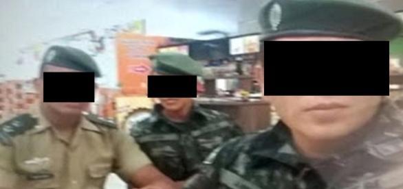 Militares descobrem farsantes, dizem sites locais