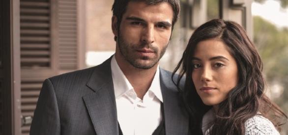 O casal de 'Sila, prisioneira do amor' (Foto: Kanal D)