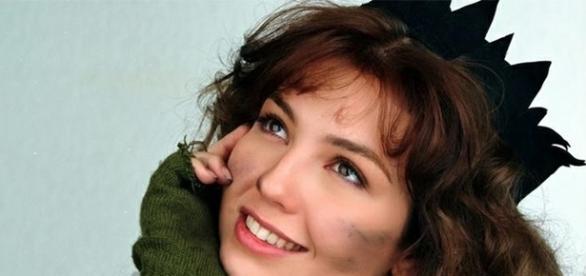 Thalía personagem da novela Maria do Bairro.