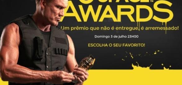 Um dos maiores astros dos filmes de ação, Dolph Lundgren apresenta a edição 2016 do prêmio. (Foto: Divulgação Space)