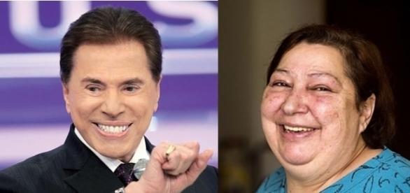 A cozinheira de 59 anos acreditava que era filha de Silvio Santos, mas os exames comprovaram que ela não é