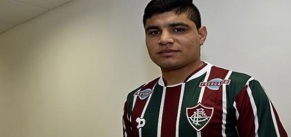 Cláudio Aquino, novo meia do Flu (Foto:Mailson Santana / Fluminense FC)