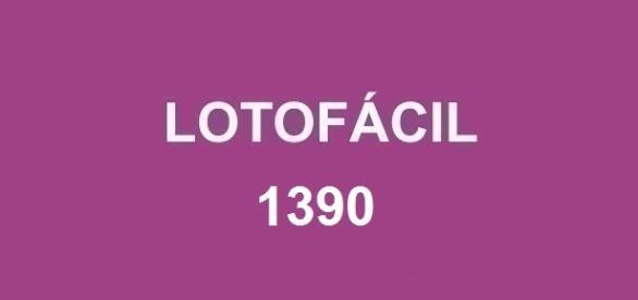 Divulgação do resultado da Lotofácil 1390 acontece nessa quarta-feira