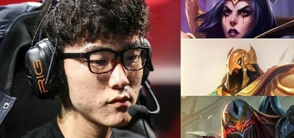 Faker, jugador profesional de League of Legends