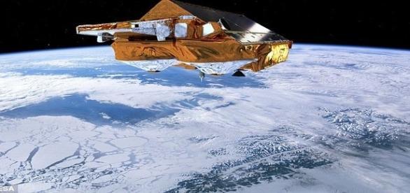 Satélite CryoSat analisa a quantidade de gelo na Terra (ESA)