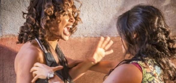 Tereza e Luzia vão brigar novamente (Divulgação/Globo)