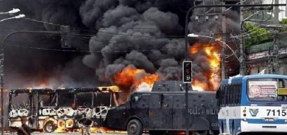 Terrorismo no Rio de Janeiro - Foto/Reprodução