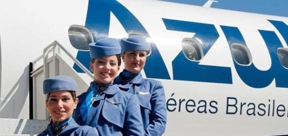 A Azul é uma das maiores companhias aéreas do Brasil