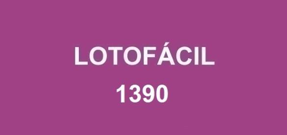 Anunciado pela Loterias Caixa o resultado da Lotofácil 1390