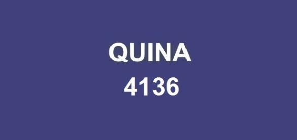 Jogadores podem conferir o resultado da Quina 4136