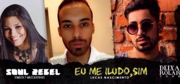 Lucas Nascimento recebe convidados de peso em evento de lançamento de seu primeiro livro. (Foto: divulgação)