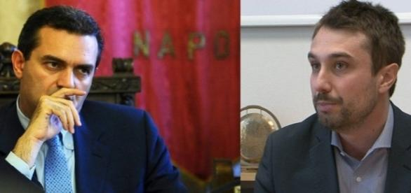Luigi De Magistris e Lorenzo Falchi
