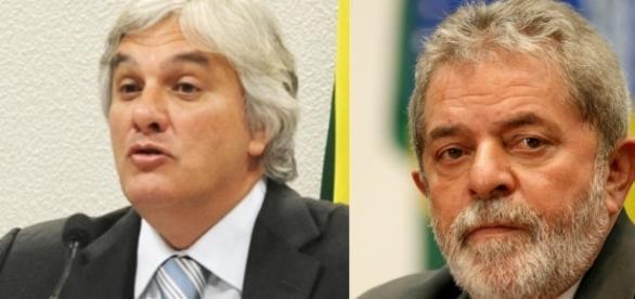 Lula e Delcídio do Amaral são acusados de tentar obstruir a justiça